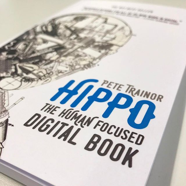 WXG speaker @petemachine wrote the No1 Amazon Best Seller, HIPPO. A journey through design thinking and understanding the philosophy between technology and humanity. #KyanLibrary #hippobook #WXGFive #ux #WXGFive