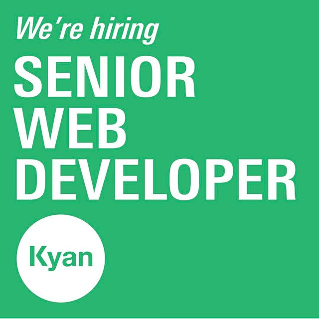 We're looking for talented individuals to join our growing team! Could you be our next Senior Web Developer? Click 🔗 in bio for more info on the role #jobs #webdeveloperjobs #hiring