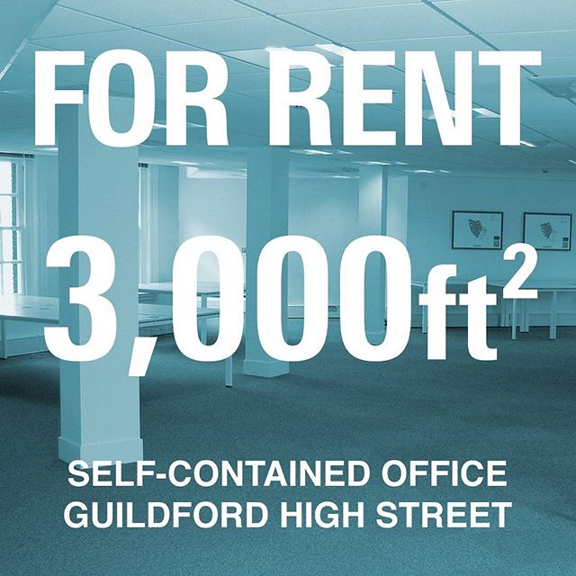 We've outgrown our lovely town centre offices. Now looking for the next tenants #Guildford #OfficeForRent #Surrey - get in touch! Info@kyan.com