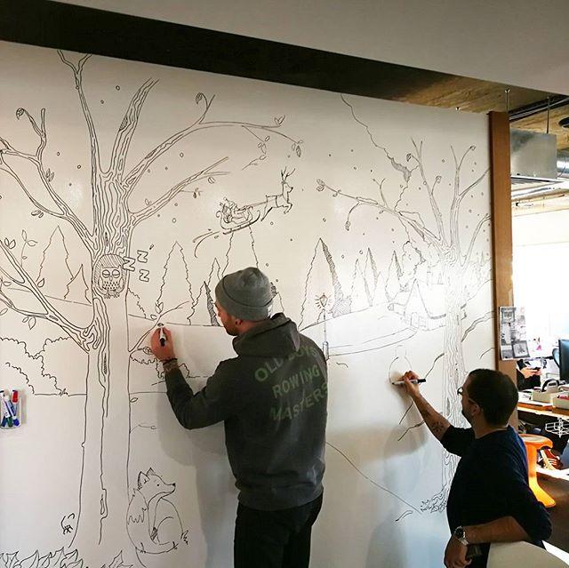 Creative team in full flow! #KyanXmas #LifeOfKyan